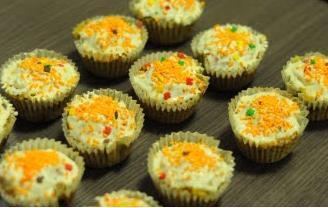 Les Papotages de Nana - Carrot cupcakes