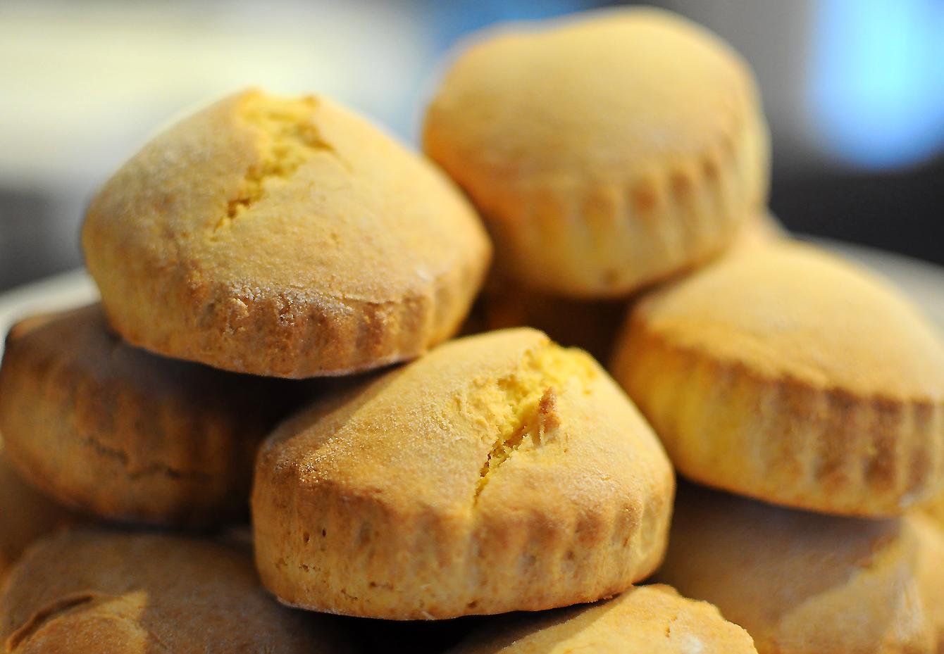 Les Papotages de Nana - Scones farine de maïs