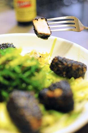 Les Papotages de Nana - Croquettes de thon au sésame noir