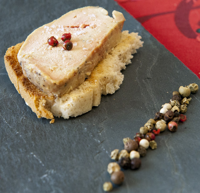 Les Papotages de Nana - Imposture : Le foie gras facile façon gravlax