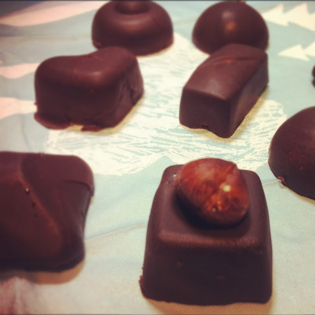 Les Papotages de Nana - Les petits chocolats de noel
