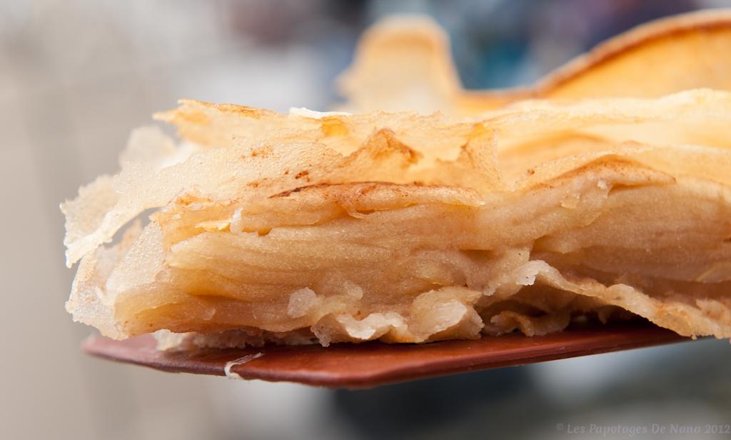 Les Papotages de Nana - Tarte aux pommes façon pastilla