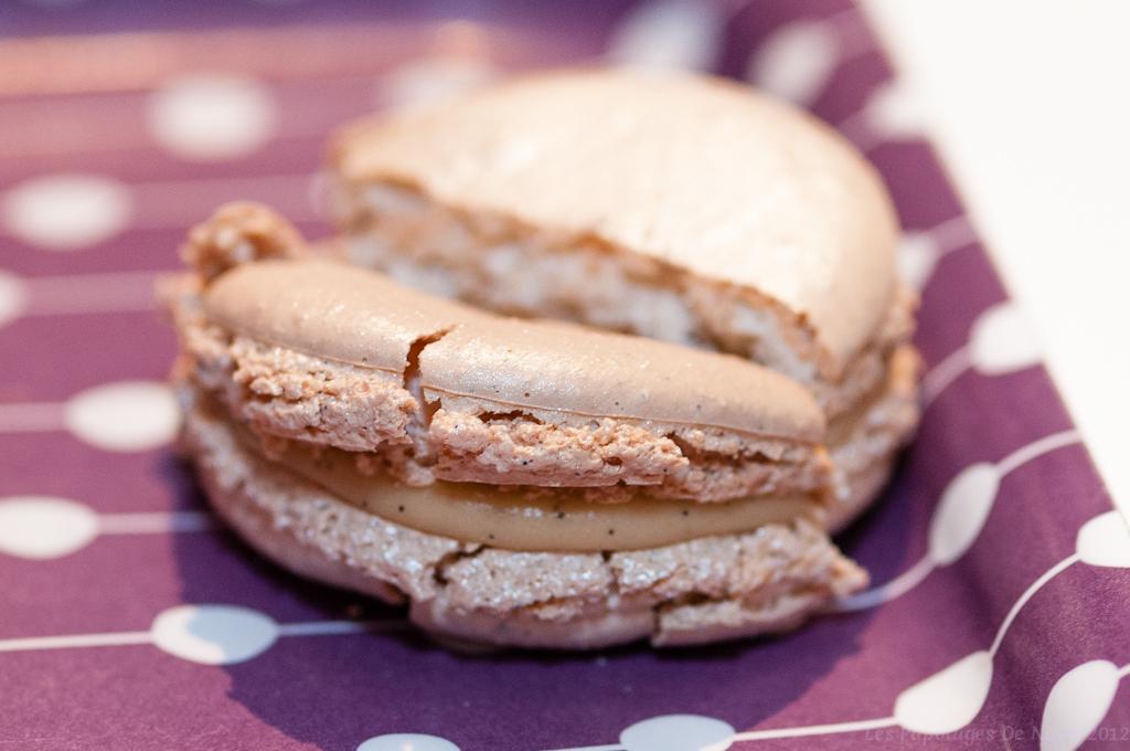 Les Papotages de Nana - Macarons café Pouchkine