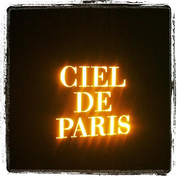 Les Papotages de Nana - Ciel de Paris