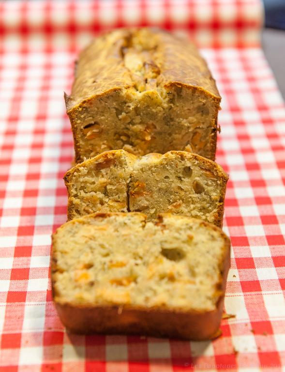 Les Papotages de Nana - Cake saumon aneth