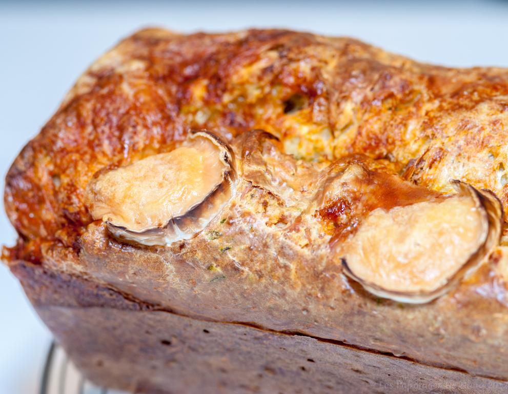 Les Papotages de Nana - Cake chèvre courgette