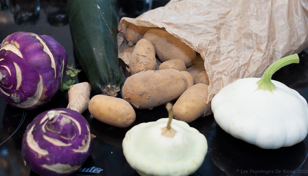Les Papotages de Nana - Potée de légumes Maggi