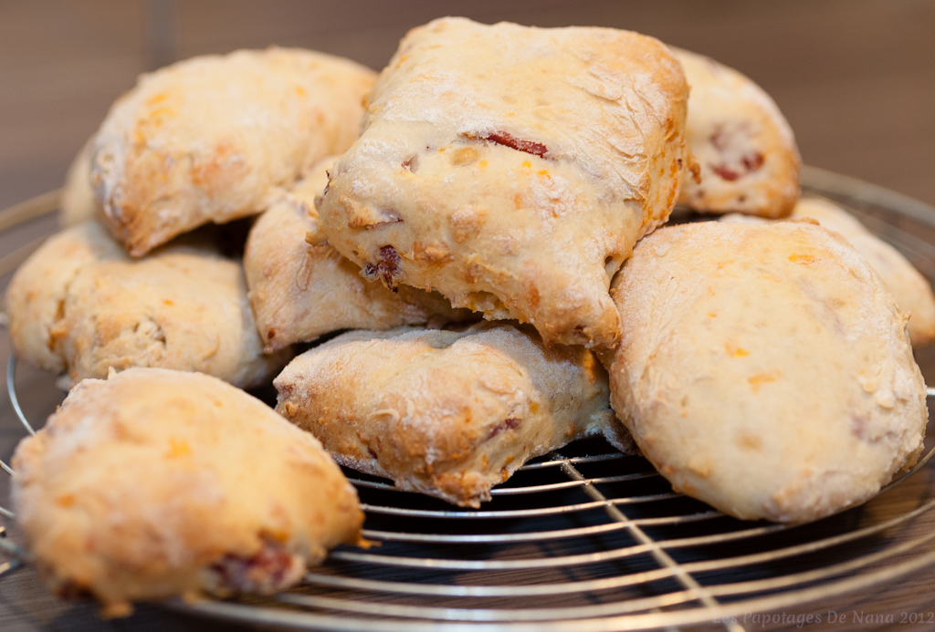 Les Papotages de Nana - scones buttermilk