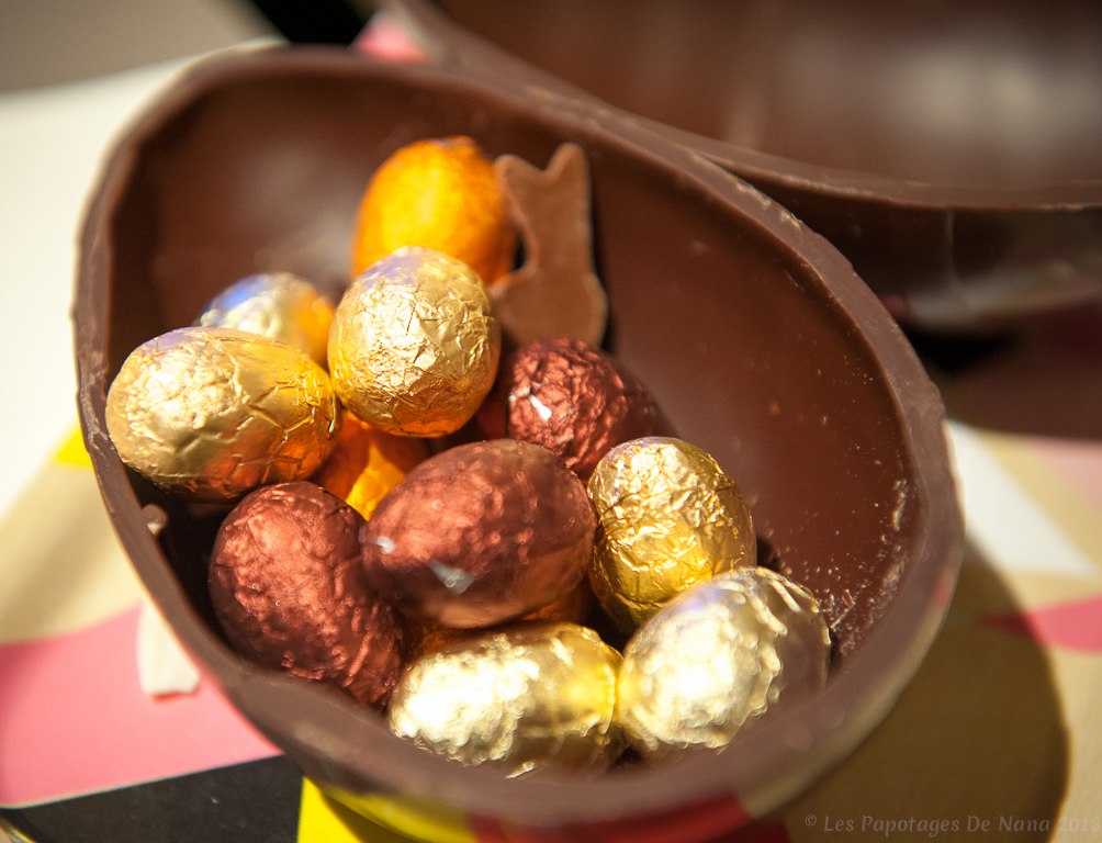 Les Papotages de Nana - La maison du chocolat