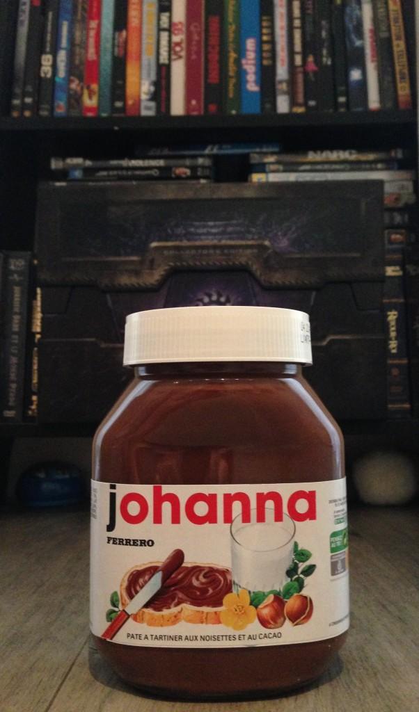 Les Papotages de Nana - Nutella