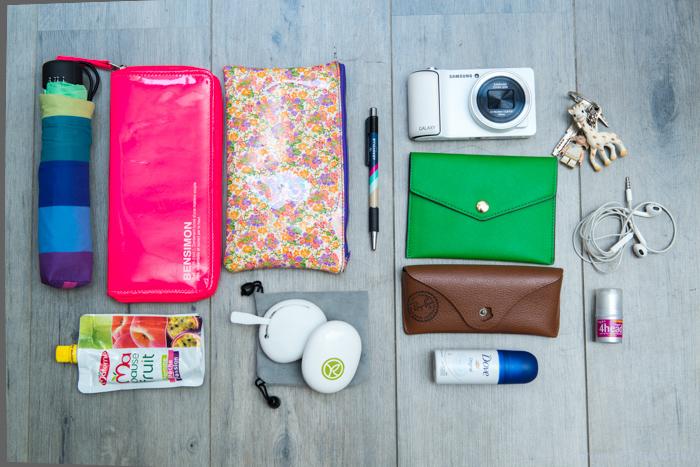 Les Papotages de Nana - Dans mon sac