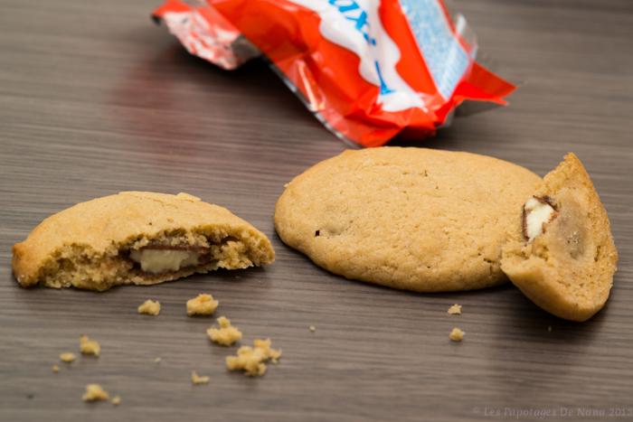 Les Papotages de Nana - Cookies au Kinder