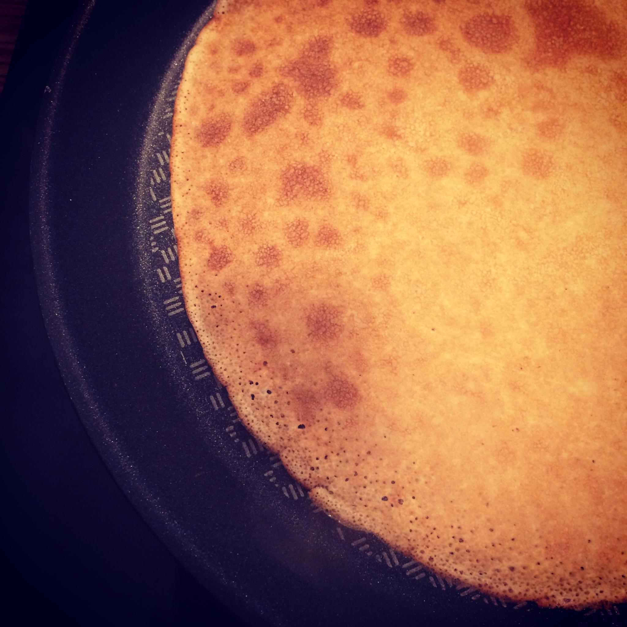 Les Papotages de Nana - Les crêpes au lait d'amande