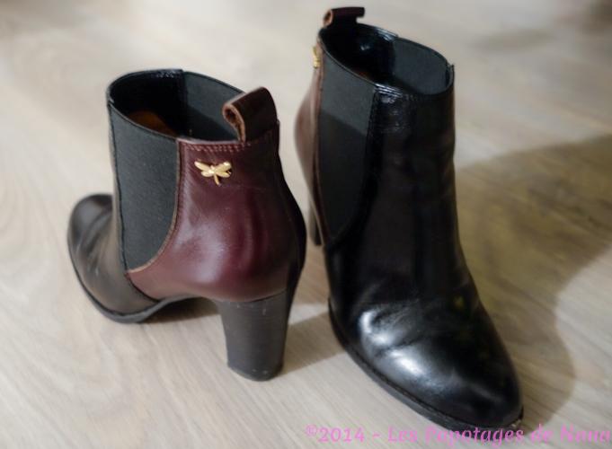 Les Papotages de Nana - mon petit soulier