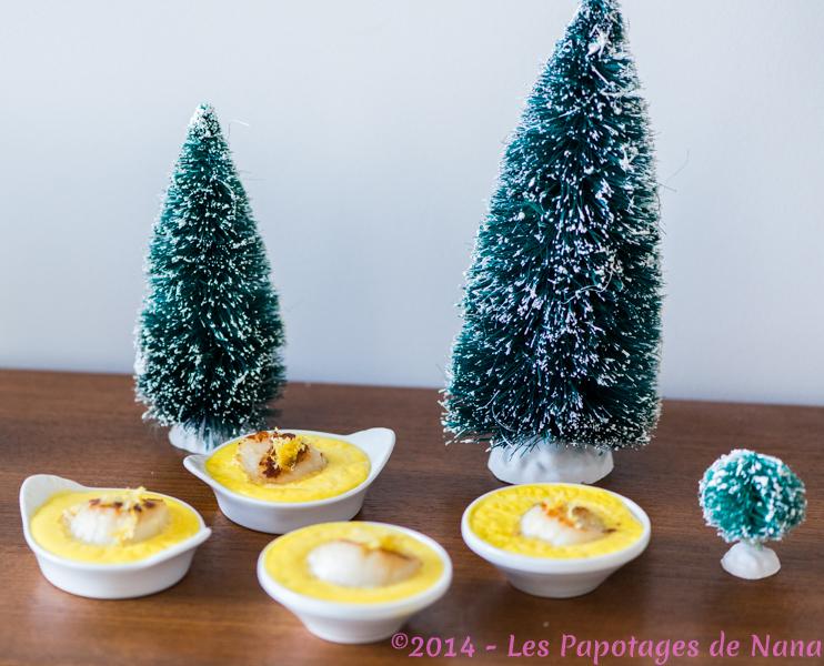 Les Papotages de Nana - Cassolettes de St Jacques