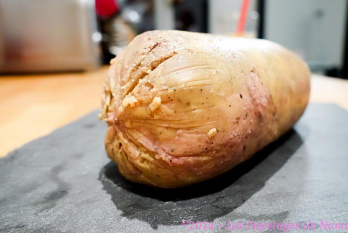 Les Papotages de Nana - Foie gras au torchon