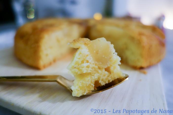 Les Papotages de Nana - Gâteau aux poires