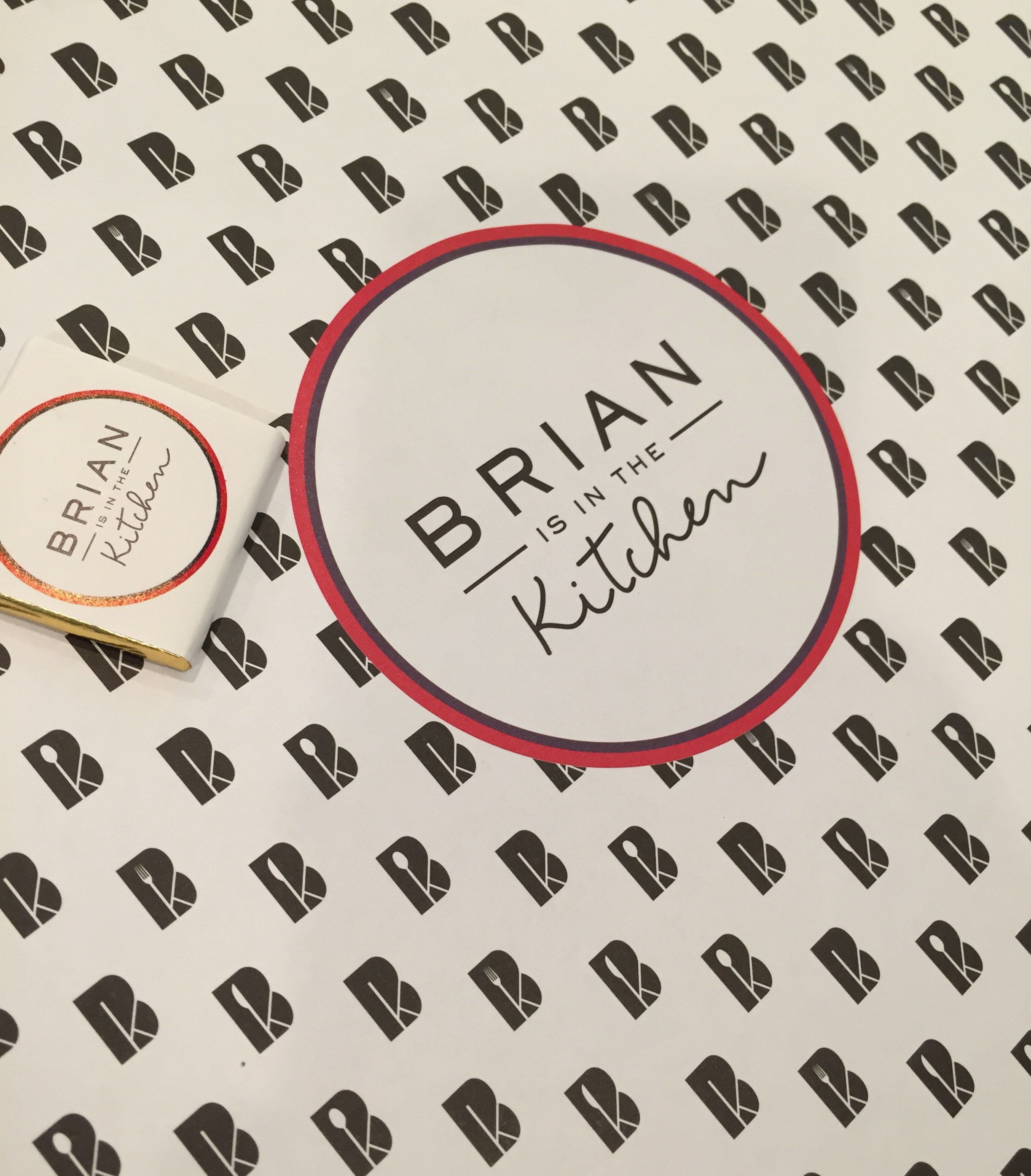 Les Papotages de Nana - Brian is in the kitchen