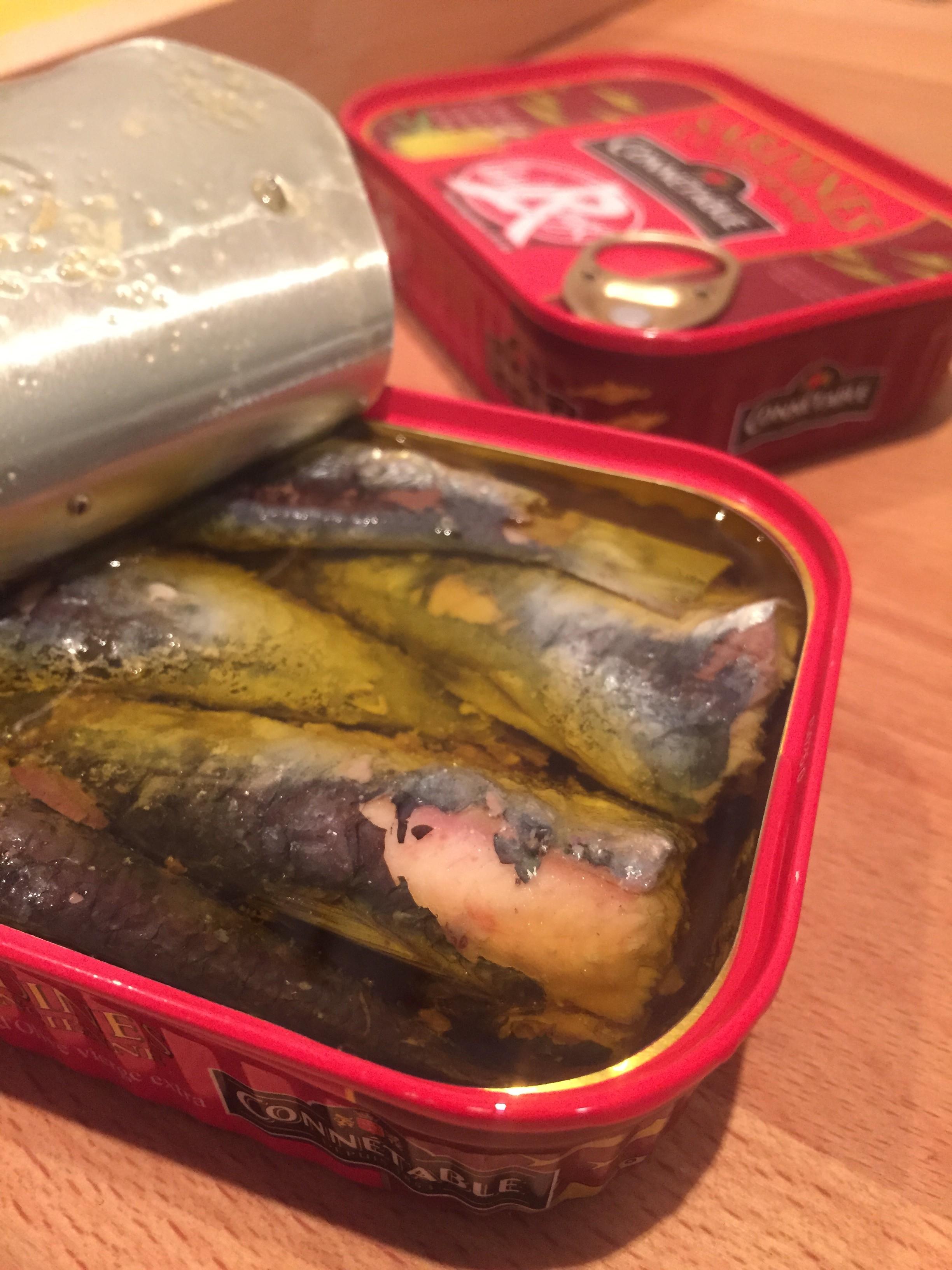 Les Papotages de Nana - Sardines Connetable