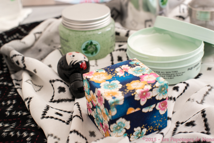 Les Papotages de Nana - Green tea The Body SHop