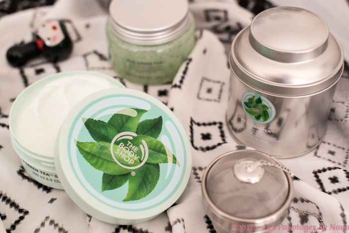 Les Papotages de Nana - Green tea The Body SHop