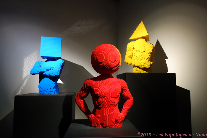 Les Papotages de Nana - The art of the brick