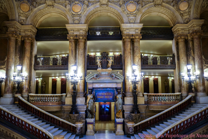 Les Papotages de Nana - Opéra Garnier