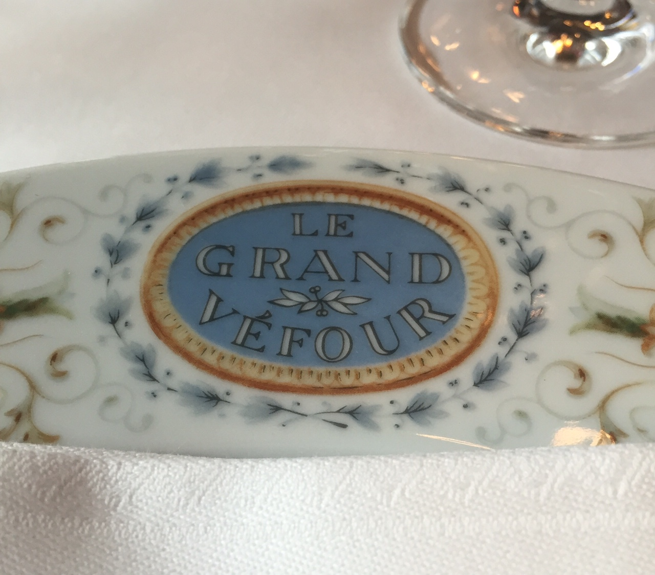 Les Papotages de Nana - Le Grand Véfour