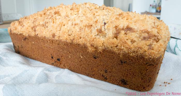 Les Papotages De Nana - Mi crumble mi cake