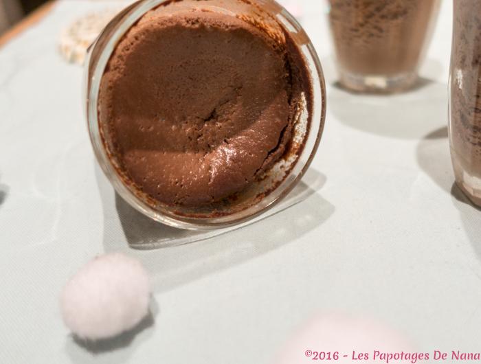 Les Papotages de Nana - Petits pots au chocolat