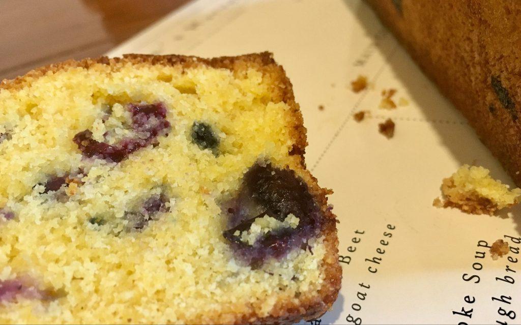 Les Papotages de Nana - Cake polenta