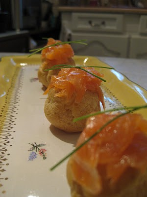 Les Papotages de Nana - Profiteroles scandinaves