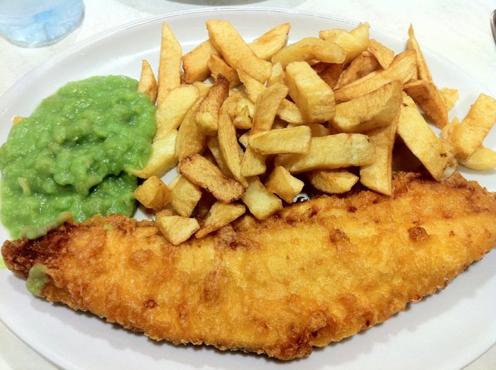 Les Papotages de Nana - Fish and chips