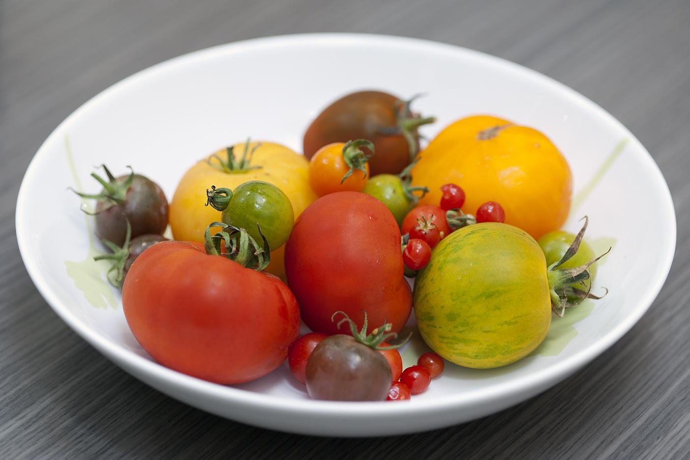 Les Papotages de Nana - Salade de tomates d'Alain Passard