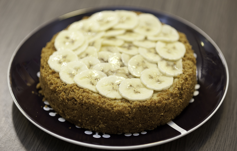 Les Papotages de Nana - Cheesecake banane