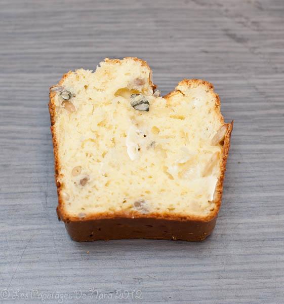 Les Papotages de Nana - Un cake ? Oui mais aux 3 fromages et plus si affinités
