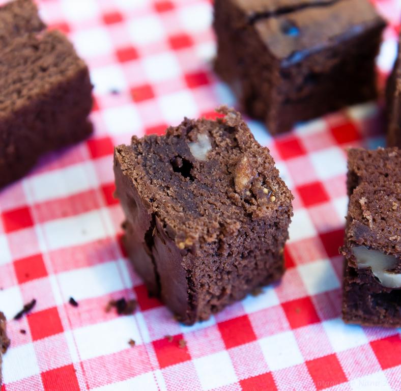 Les Papotages de Nana - Brownie Nutella