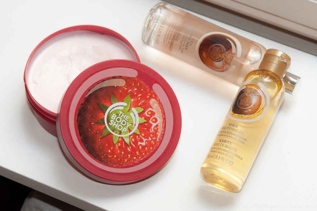 Les Papotages de Nana - The Body Shop