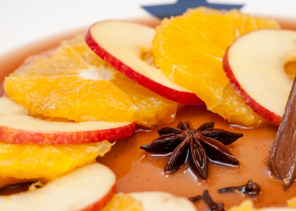 Les Papotages de Nana - Nage de fruits d'automne