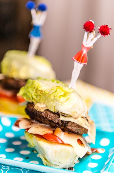 Les Papotages de Nana - burger Leerdamer