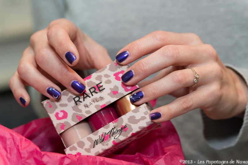 Les Papotages de Nana - Rare nails