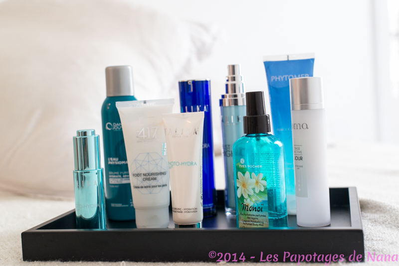 Les Papotages de Nana - Routine summer 2014