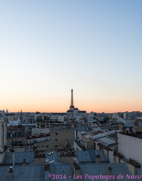 Les Papotages de Nana - Rooftop Novotel