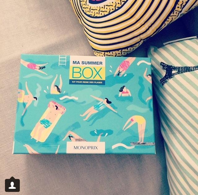 Les Papotages de Nana - Summer box by Monoprix