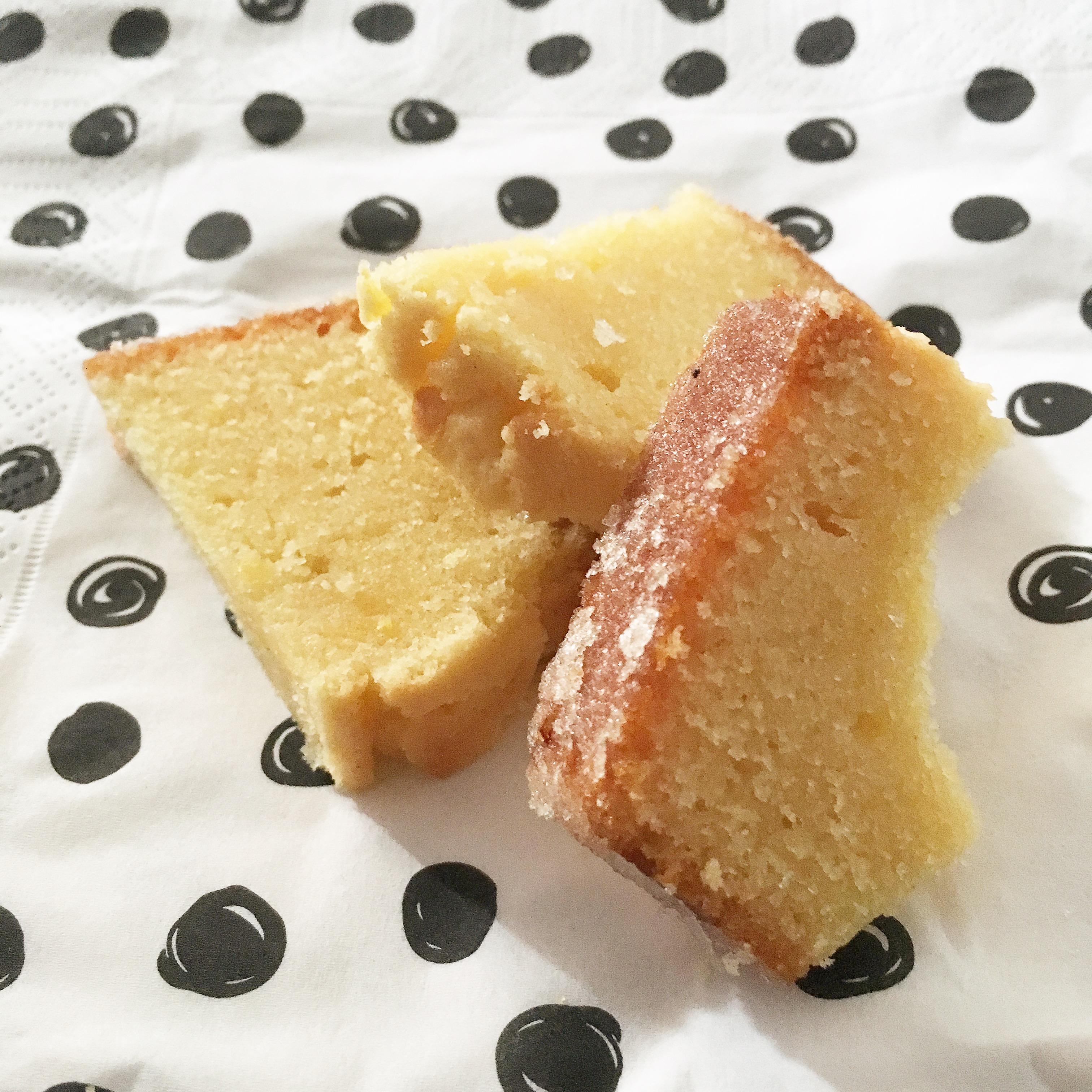 Les Papotages de Nana - Cake au citron